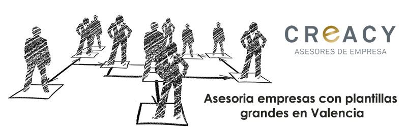 Asesoría empresas con plantillas grandes Valencia
